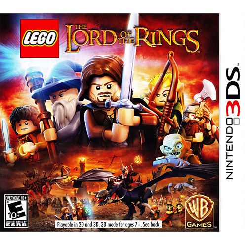 Lego Lord Of The Rings Video Game-Nintendo 3DS