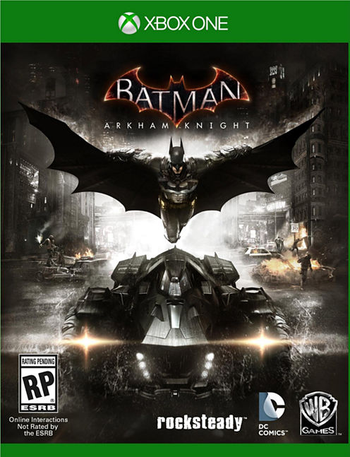 Batman Arkham Knight Video Game-XBox One