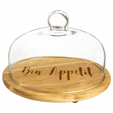 jcpenney.com | Cathy's Concepts Acacia Wood 2-pc. Bar Tray