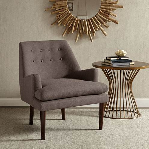 Heidi Roll Back Accent Chair