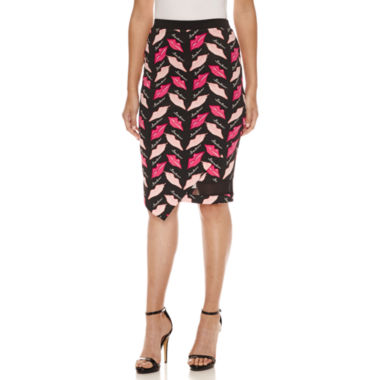 jcpenney.com | Bisou Bisou Pencil Skirt