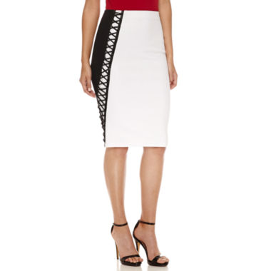 jcpenney.com | Bisou Bisou Color Block Pencil Skirt