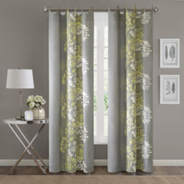 jcpenney.com | Adria Floral Grommet-Top Curtain Panel