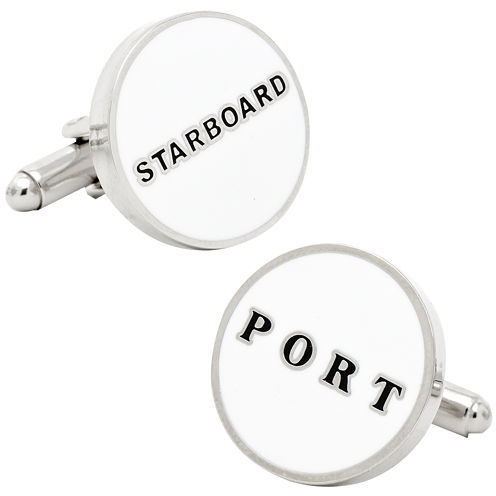 Port & Starboard Cuff Links