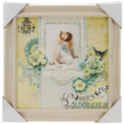 "Wood Frame 12""X12""  – Prima Flowers"