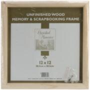 "12 x 12"" Memory & Scrapbooking Frame"