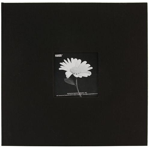 Fabric 3-Ring Binder Album with Window