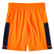 Okie Dokie® Pieced Athletic Shorts - Boys 12m-6y