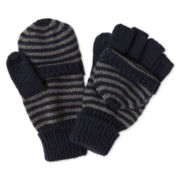 Joe Fresh™ Striped Gloves w/ Flap - Boys