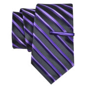 JF J. Ferrar® Celebration Stripe Tie