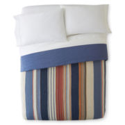 Desert Retro Chic Cotton Striped Bedspread