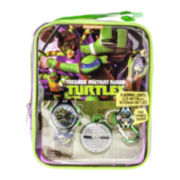 Teenage Mutant Ninja Turtles Kids Watch, Keychain and Tote Set