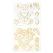 Decree® 2-pc. Floral Temporary Tattoo Set