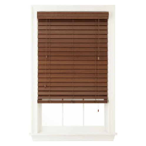 """JCPenney Home™ 2½"""" Wood Horizontal Blinds"""