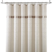 Royal Velvet® Battista Jacquard Shower Curtain