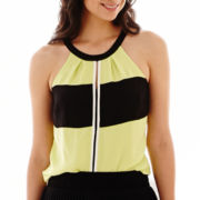 Worthington® Colorblock Halter Top
