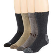 Dickies® Mens 4-Pk. Crew Socks