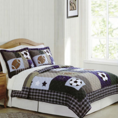 jcpenney.com | My World Sports Collage Quilt Set