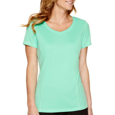 jcpenney.com | Made for Life™ Short-Sleeve Mesh T-Shirt - Tall