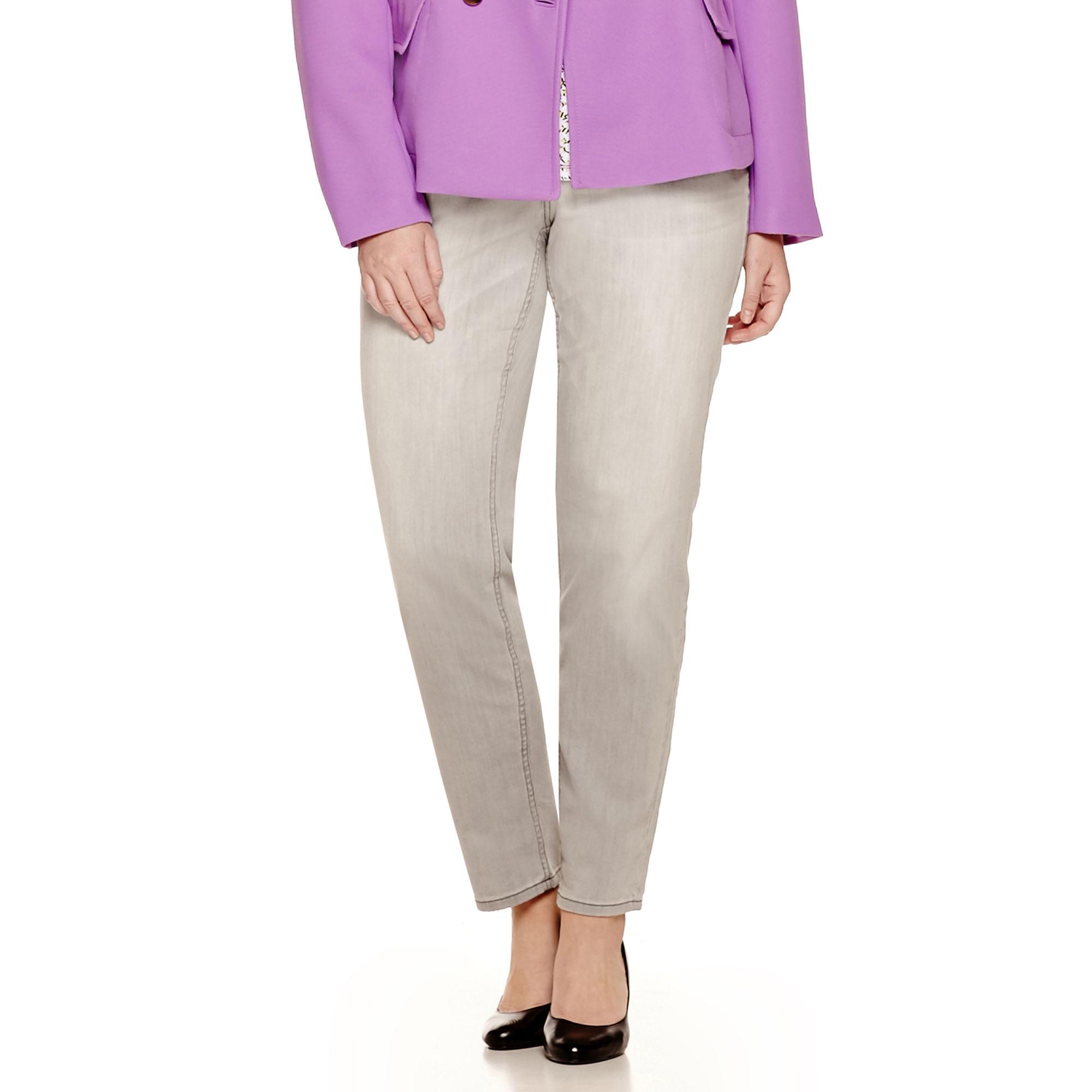 Liz Claiborne City-Fit Skinny Jeans - Plus
