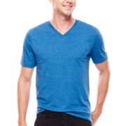 Arizona Short-Sleeve V-Neck Cotton Tee