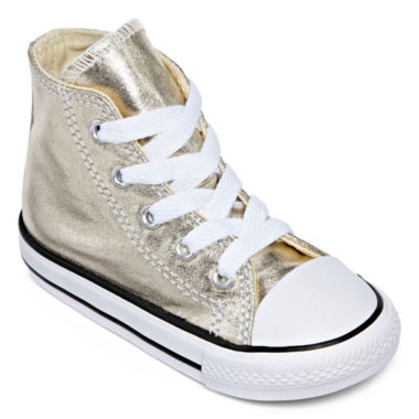 jcpenney.com | Converse® Chuck Taylor All Star Metallic Girls High-Top Sneakers - Toddler