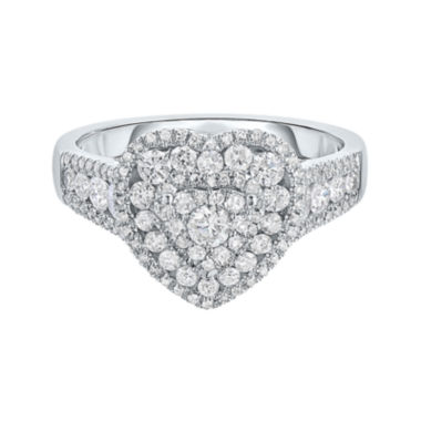 jcpenney.com | LIMITED QUANTITIES! Womens 1 CT. T.W. Round White Diamond 14K Gold Engagement Ring