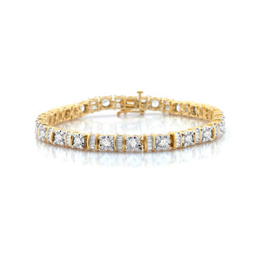 jcpenney.com | 5 CT. T.W. White Diamond 10K Gold Tennis Bracelet