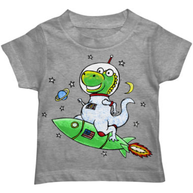 jcpenney.com | Boys Astro-Saurus Rex Graphic T-Shirt - Toddler 2T-5T