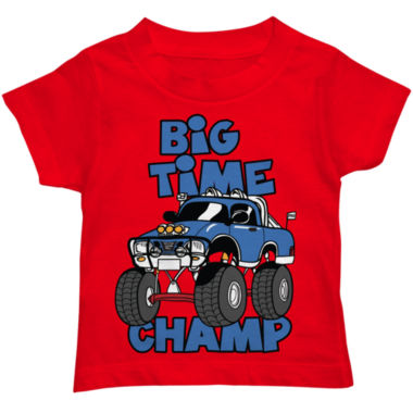 jcpenney.com | Boys Big Time Champ Graphic T-Shirt - Toddler 2T-5T