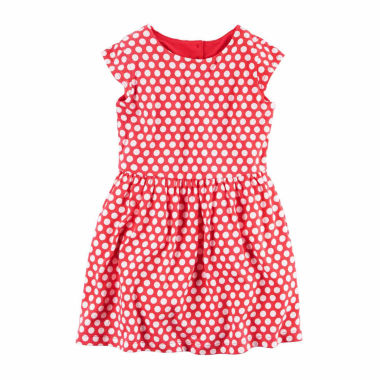 jcpenney.com | Carter's Long Sleeve A-Line Dress - Toddler