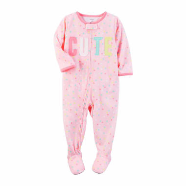 jcpenney.com | Carter's One Piece Pajama-Toddler Girls