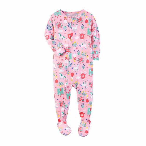 Carter'S Girls 1Pc Princess Print Pajama-Toddler