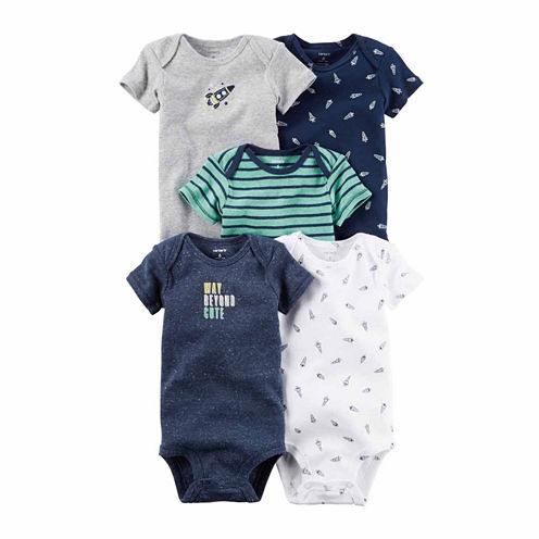 Carter's 5-pc. Bodysuit Set-Baby Boys