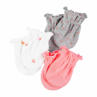 jcpenney.com | Carter's Girls Baby Mittens-Baby