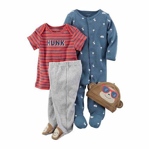 Carter's 4-pc. Pant Set Baby Boys