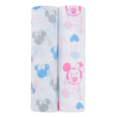 jcpenney.com | Ideal Baby Ideal Minnie 2-pc. Swaddle Blankets