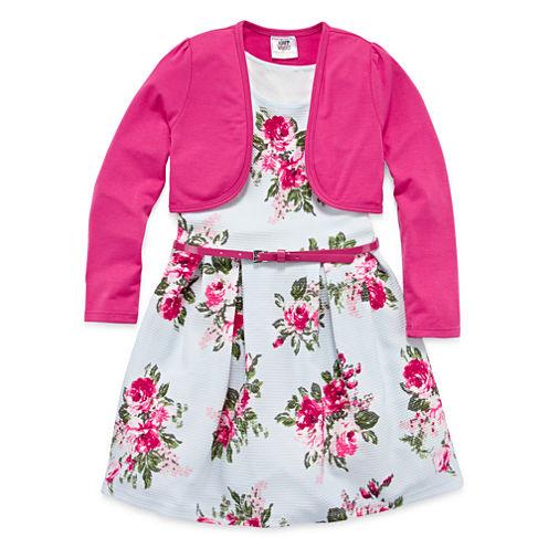 Knit Works Skater Dress - Preschool Girls