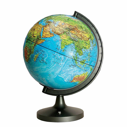 11 Dual Cartography Illuminated Globe