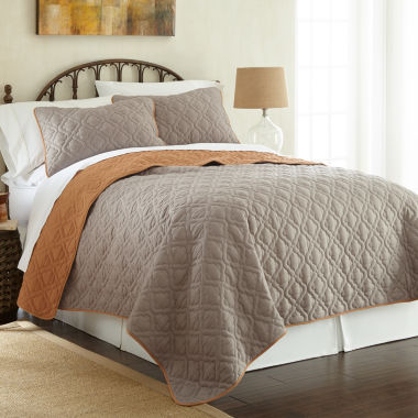 jcpenney.com | Pacific Coast Textiles Lattice 3-pc Coverlet Set