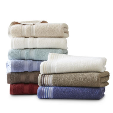 jcpenney.com | Home Expressions™ Bath Towel & 2-pc. Rug Collection