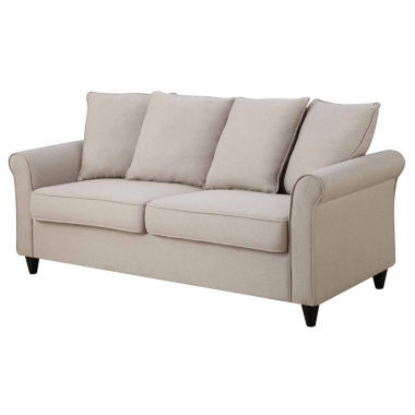 jcpenney.com | Home Meridian Fabric Roll-Arm Sofa