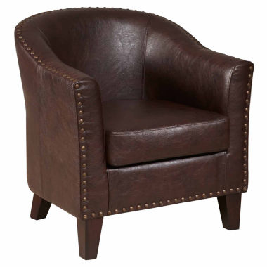 jcpenney.com | Home Meridian Faux Leather Club Chair