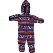 MUK LUKS® Petal Spiral Baby Bunting - 3m-18m