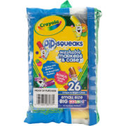 Crayola® Pip-Squeaks Mini Washable Markers-26/Pkg
