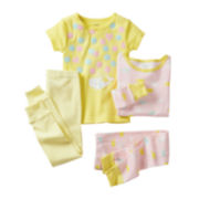 Carter's® 4-pc. Whale Pajamas - Girls 2t-5t