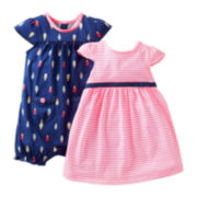 Carter's® Ice Cream Romper and Dress Set - Girls newborn-24m