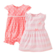 Carter's® Cherry Romper and Dress Set - Girls newborn-24m
