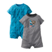 Carter's® 2-pk. Sailboat Rompers Set - Boys newborn-24m