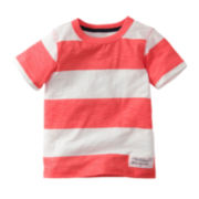 Carter's® Orange and White Striped Tee - Boys 2t-4t